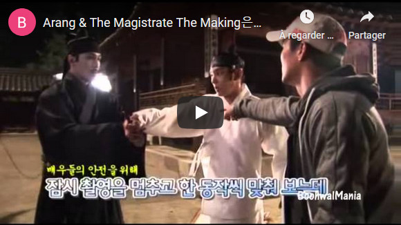 Arang & The Magistrate The Making - Youtube