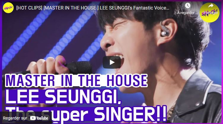 Lee Seung-gi - Master in the house